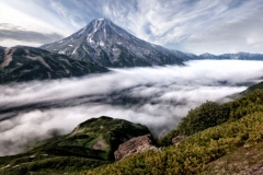 Камчатка.вулканы 1