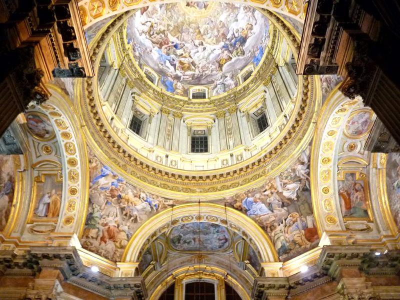 Росписи собора святого януария