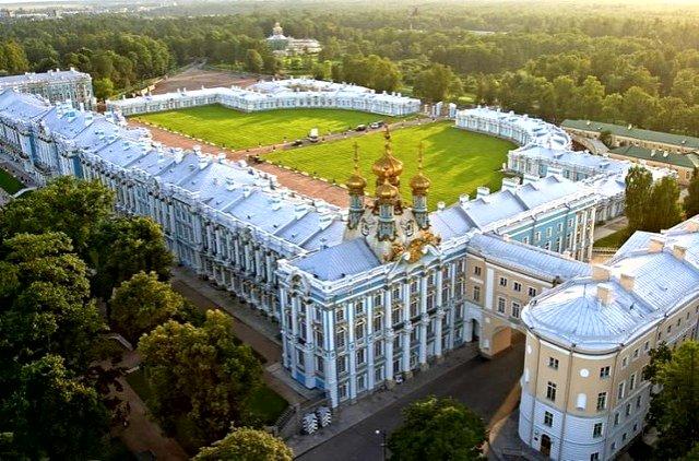 г.Пушкин, Екатерининский дворец