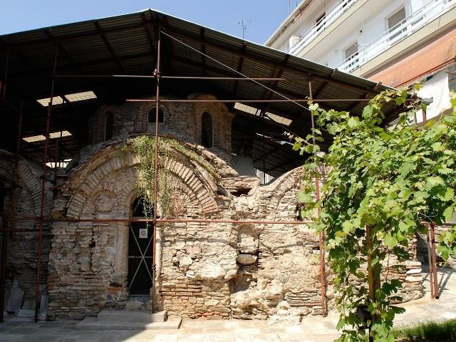 Салоники. византийская баня