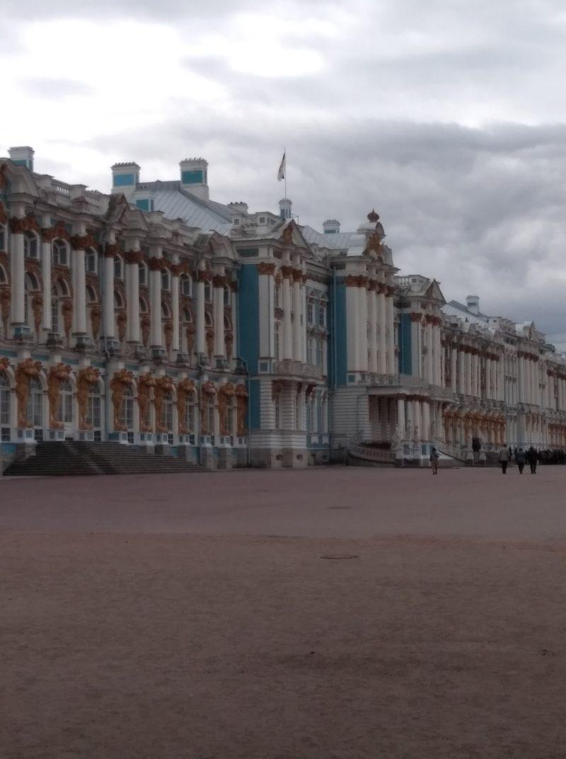 Екатерининский дворец. Автопутешествие из Москвы в Петербург