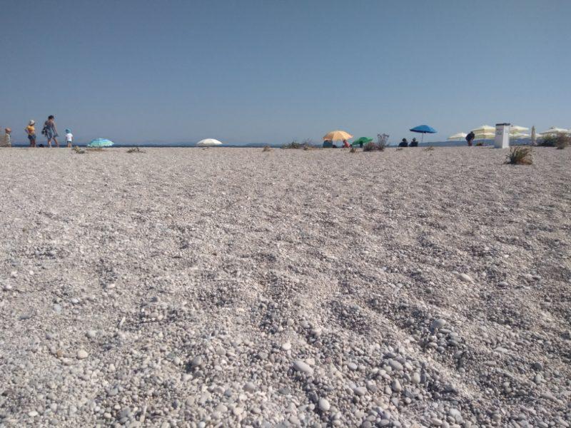 Лефкас пляж