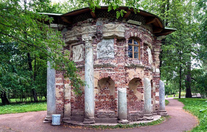 Царское Село. Екатерининский парк. Кухня-руина