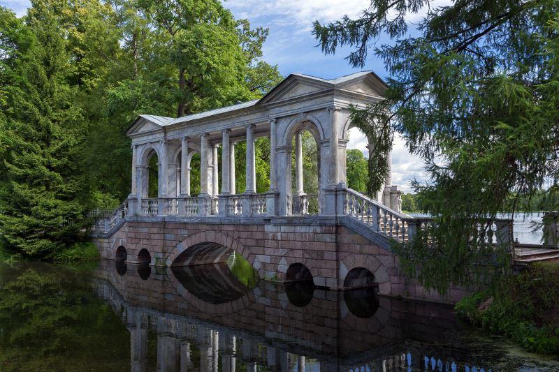 Царское Село. Мраморный мост