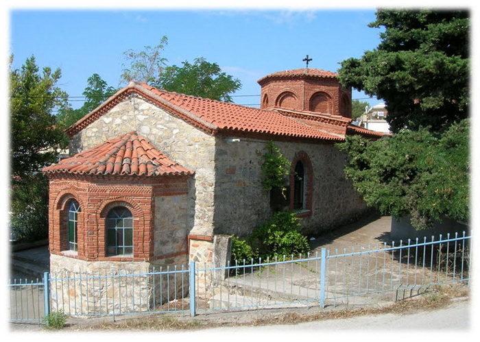 Ормос Панагиас. Храм Богородицы