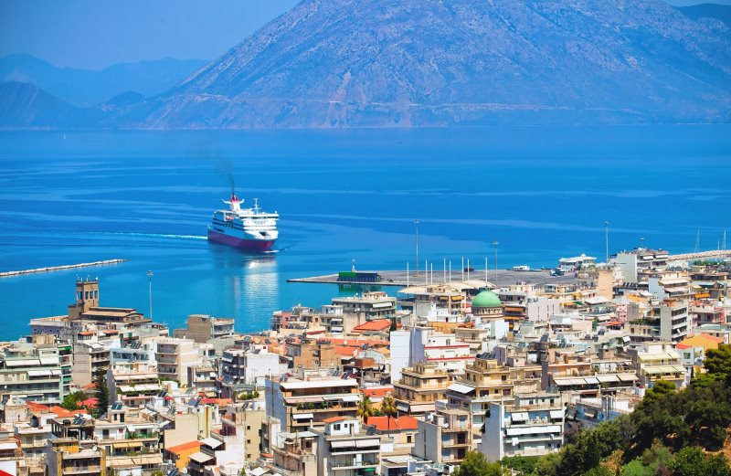 Патры. Путешествие по Греции