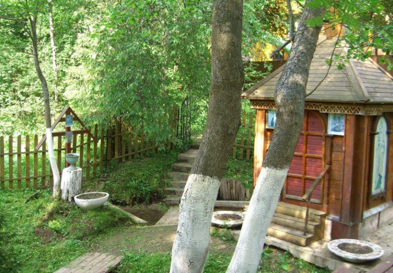 Мураново. Источник Димитрия Солунского