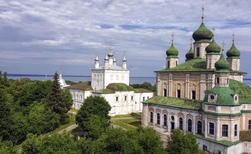 Переславль-Залесский. Горицкий монастырь Успенский собор