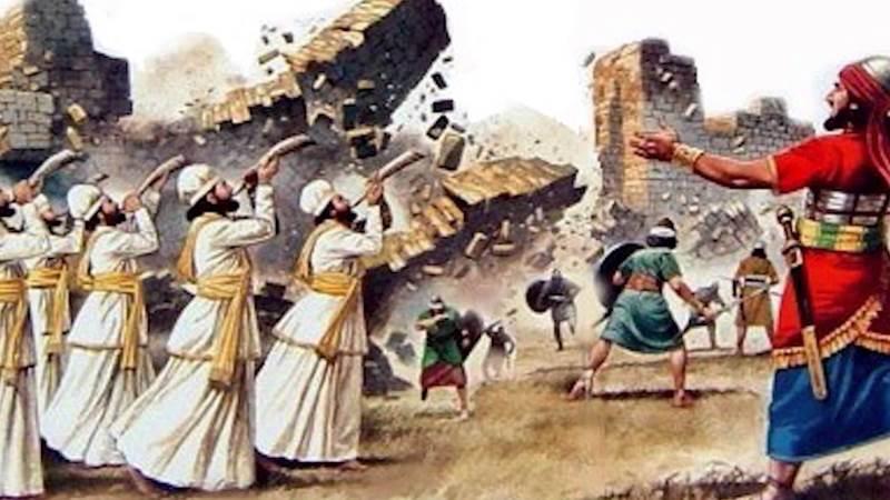 Библейская история захвата Иерихона
