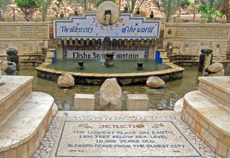 иерихон источник пророка Елисея