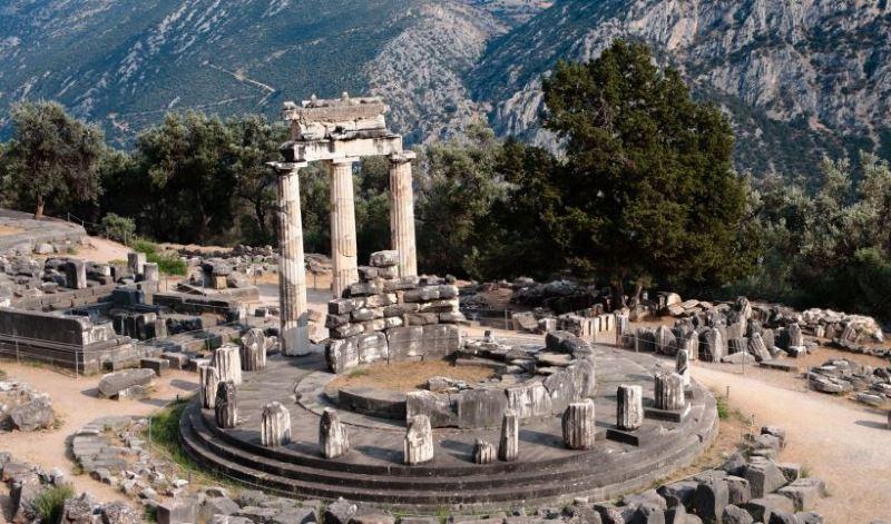 Дельфы Храм Талос