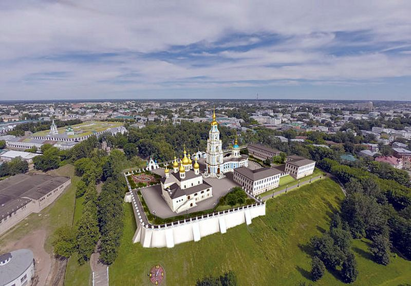 Кострома. Проект восстановления Кремля