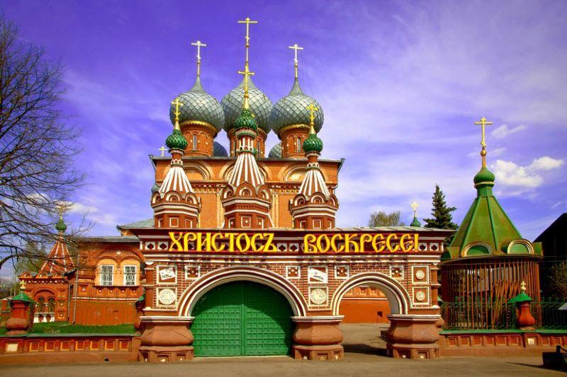 Церковь Вознесения на Дебре