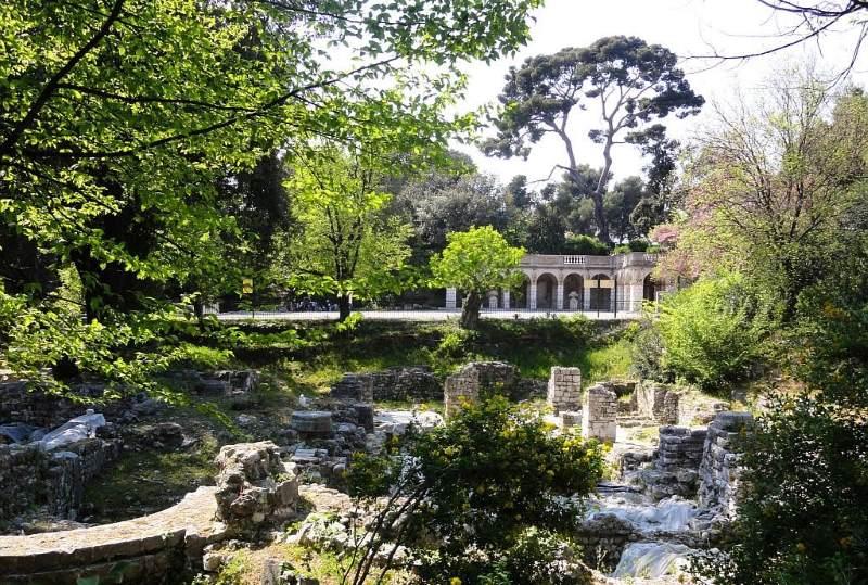 парк Шато в Ницце
