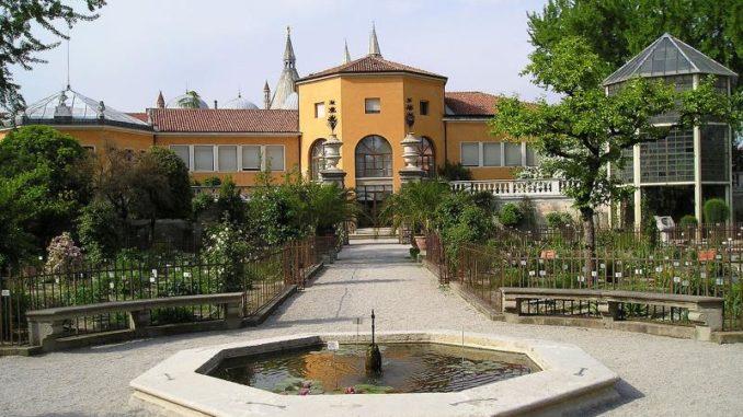 Ботанический сад в Падуе