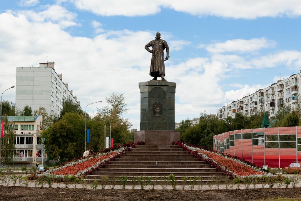 Памятник Григорию Пушке в Пушкино