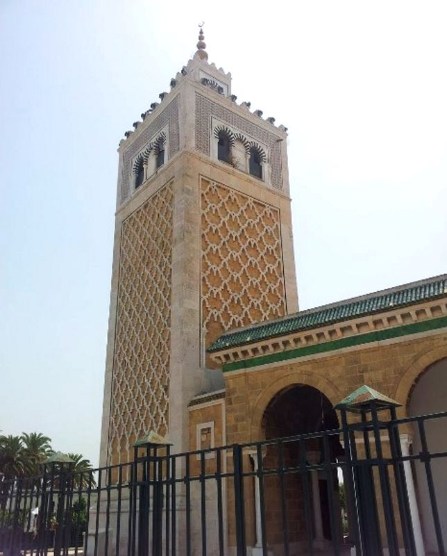 Достопримечательности Туниса. Мечеть Касба